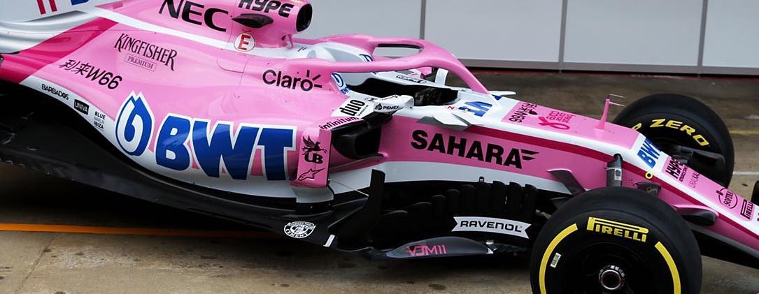 Pemex patrocinador de la Escudería Force India de la F1
