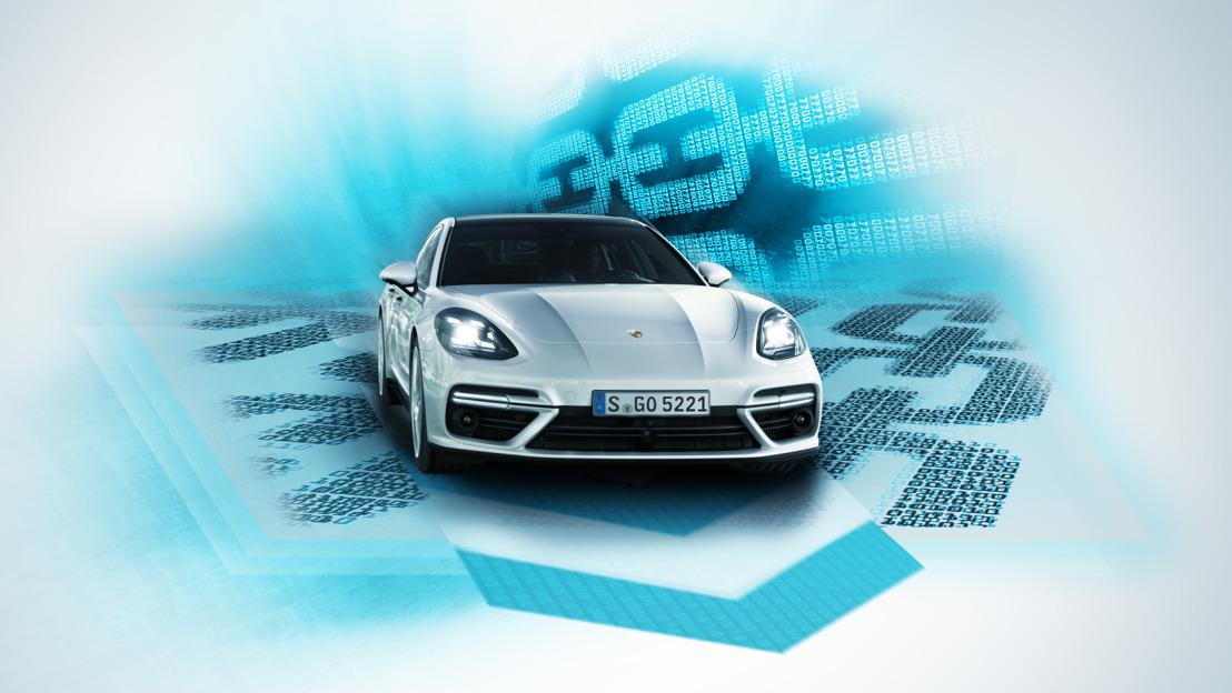 Porsche le podrá tecnología blockchain a sus autos