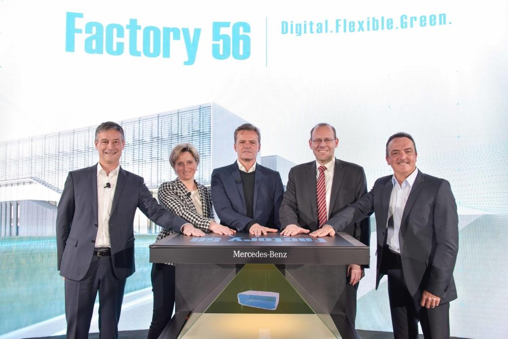 """Mercedes Benz construye la fábrica de autos más moderna del mundo, """"Factory 56"""""""