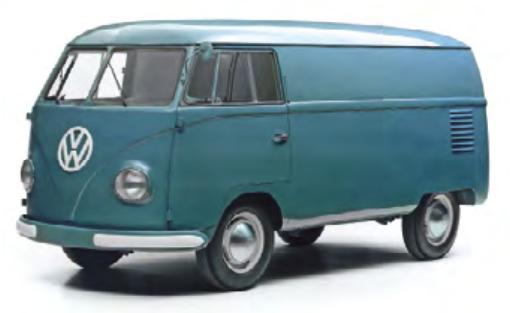 Hace 68 años comenzó la producción en masa de la Volkswagen Combi