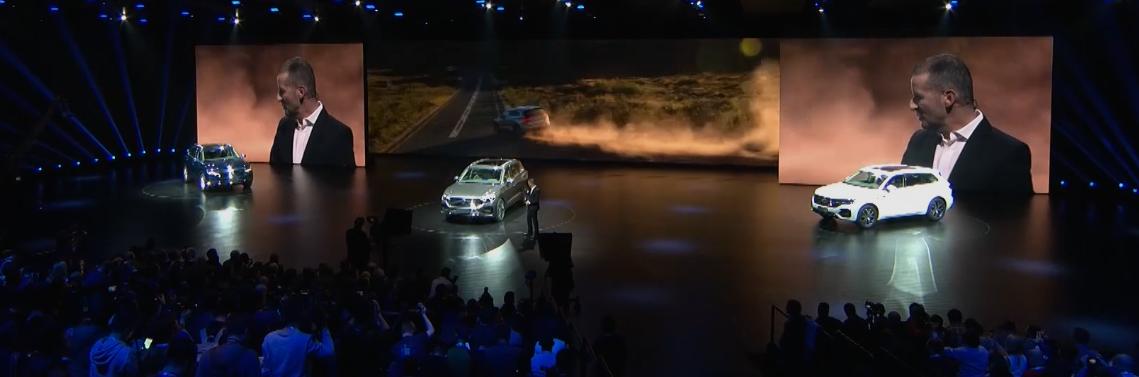 Se hizo la presentación mundial de la nueva generación del Volkswagen Touareg