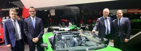 El Gobierno del Estado de Puebla se reunió con Audi AG para promover más inversiones