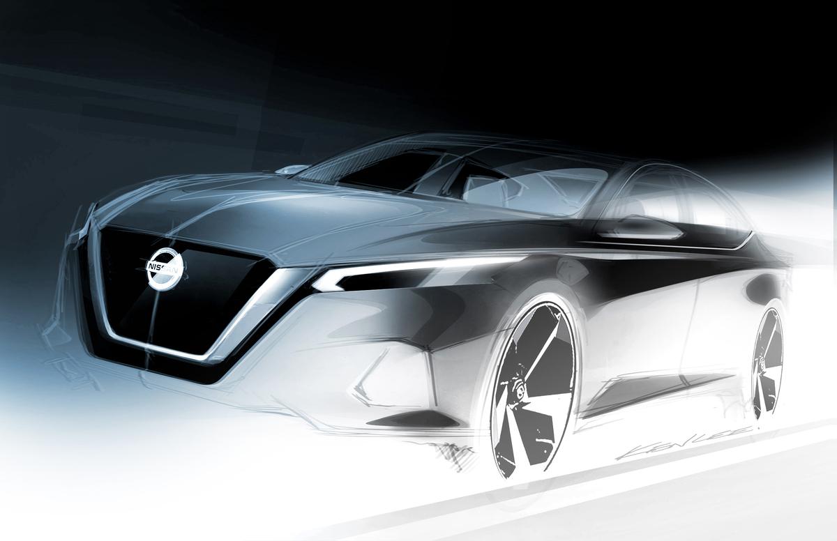 Teaser de la nueva generación del Nissan Altima