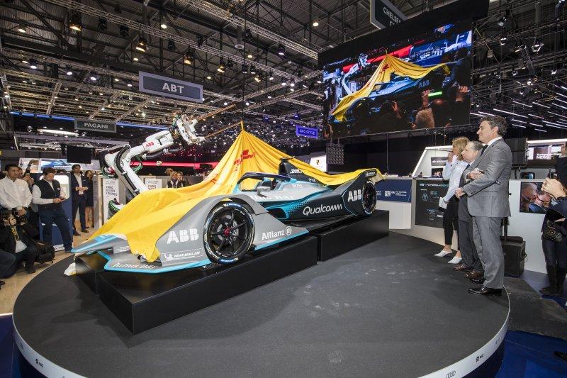 Presentaron la nueva generación del auto de la Formula E