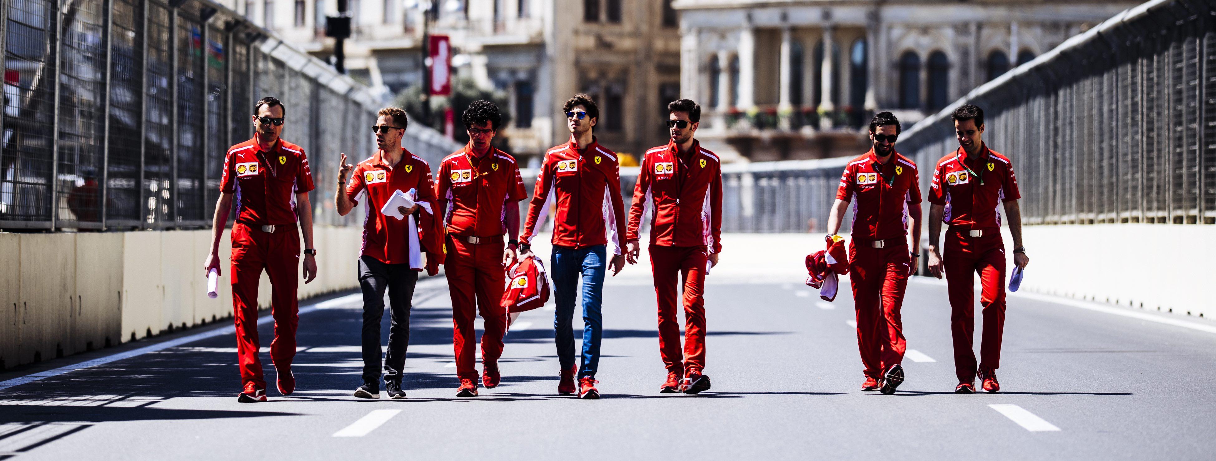 Reporte de Ferrari para el Gran Premio de Azerbaiyán 2018