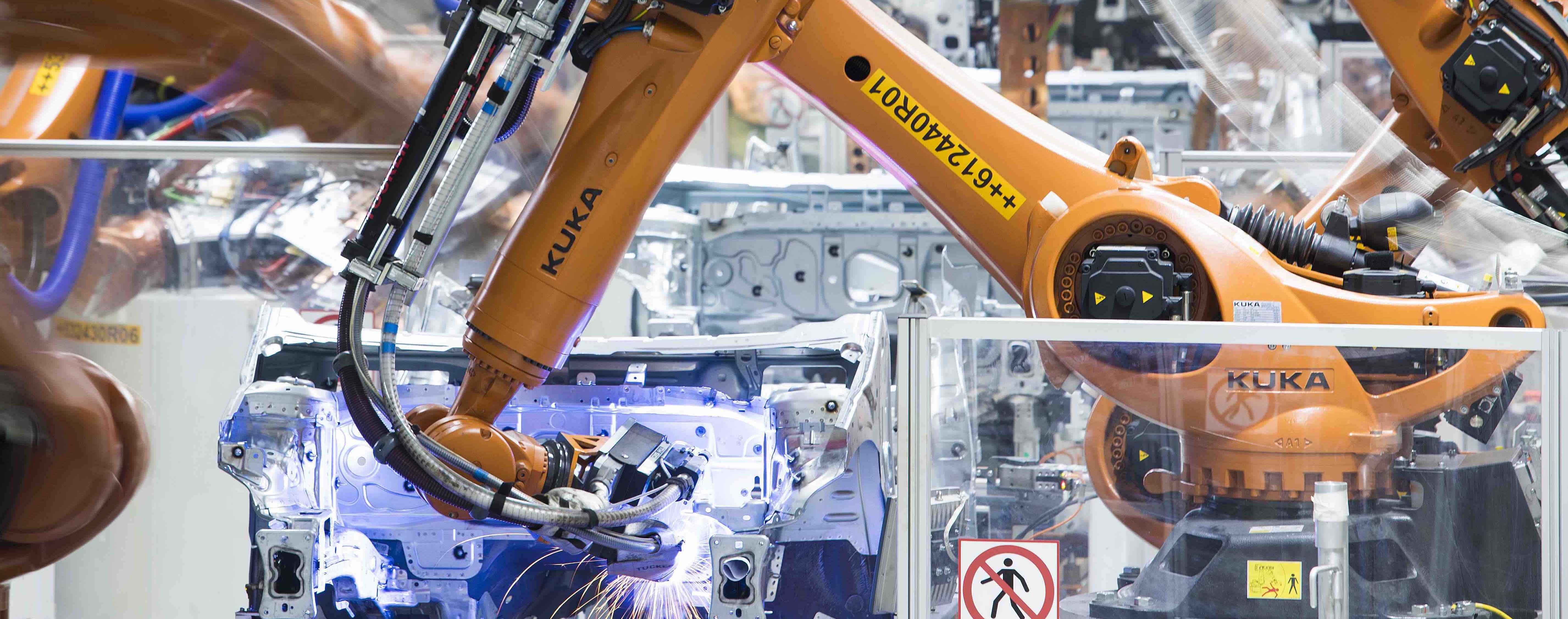 SEAT: la danza de 2,000 robots fabricando carrocerías