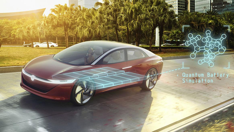 Volkswagen está utilizando una computadora cuántica en su investigación de desarrollo de baterías