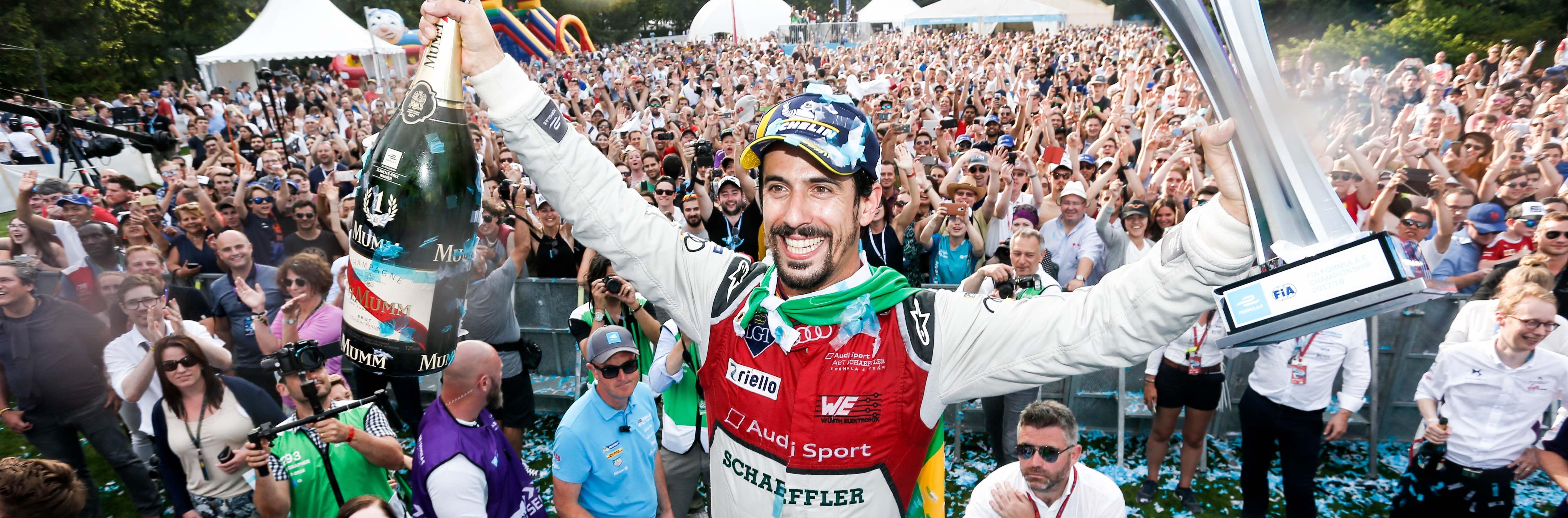 Formula E, Lucas di Grassi hace historia al ganar la primera carrera en Suiza desde hace 64 años