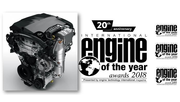 El Motor Turbo PureTech de Groupe PSA es motor del año en la categoría de 1 a 1.4 litros por cuarto año consecutivo