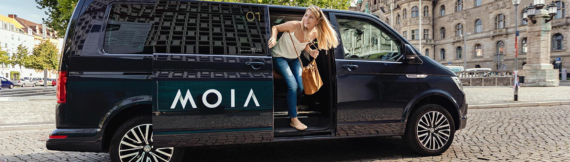 MOIA, el servicio de viajes compartidos del Grupo Volkswagen comenzó hoy sus operaciones