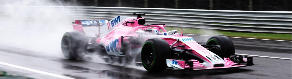 """Racing Point Force India F1 Team, las prácticas del Italia GP """"Fue un día interesante en condiciones cambiantes"""""""