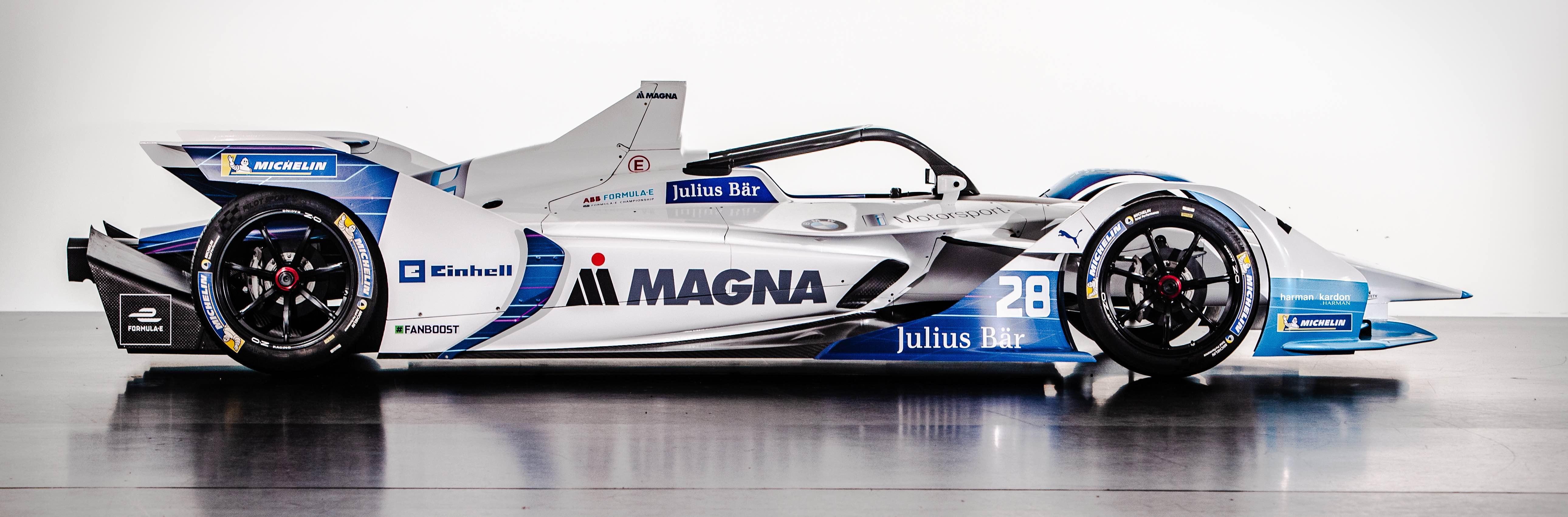 Se presentó el nuevo equipoBMW i Andretti Motorsport y al nuevo auto con el que competirán en la Fórmula E
