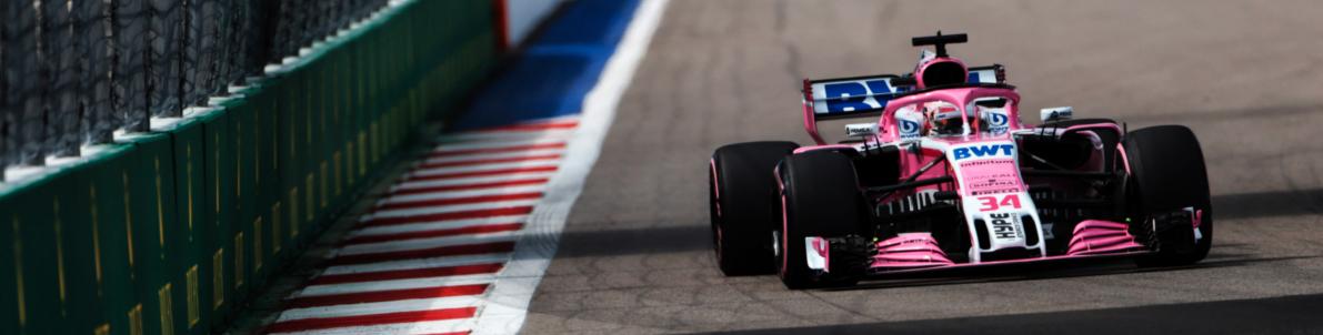 """Force India,  """"asegurarnos de que podamos estar al frente de una pelea en el mediocampo """""""