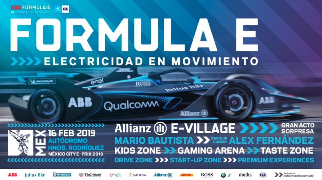 Presentación de la quinta temporada de la Formula E  en la CDMX