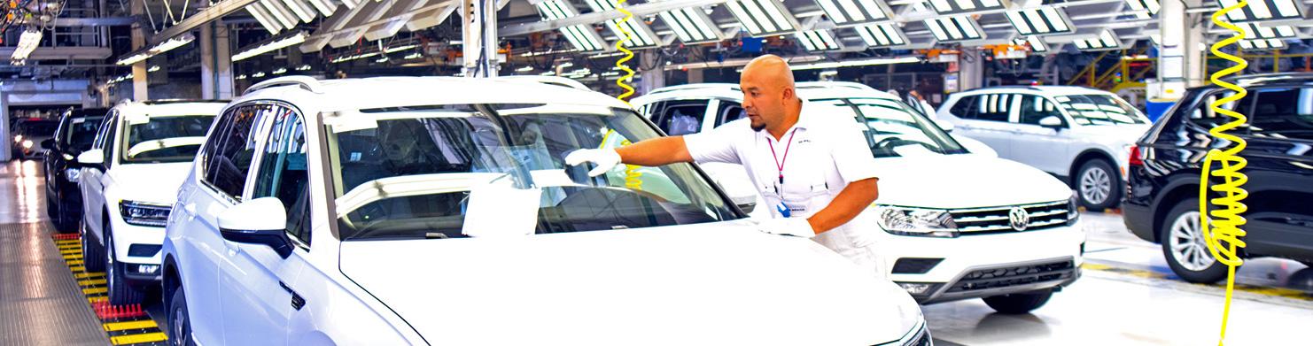 Repuntan la producción y exportación automotriz de Puebla