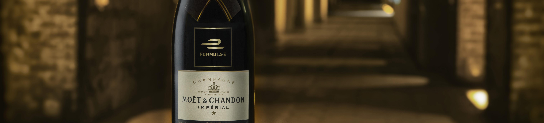 De ahora en adelante, las celebraciones de la Fórmula E serán con champaña Moët & Chandon