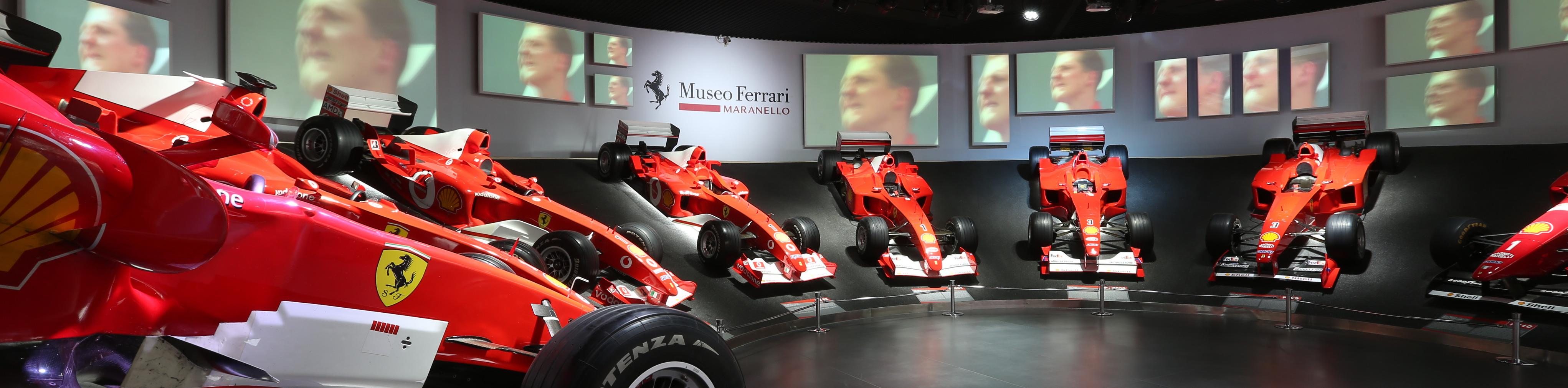 'Michael 50', la exposición en honor a Schumacher se inauguró hoy