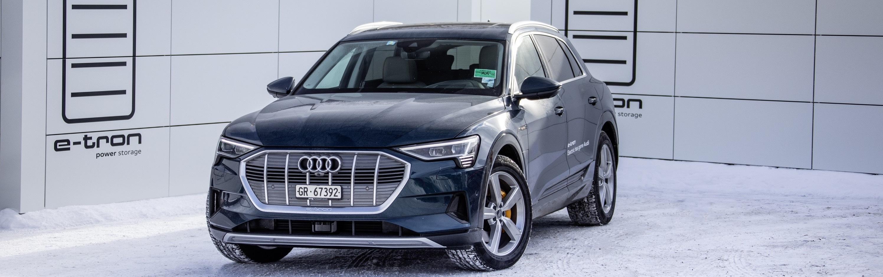 Audi electrifica al Foro Económico Mundial de Davos con 50 unidades e-tron