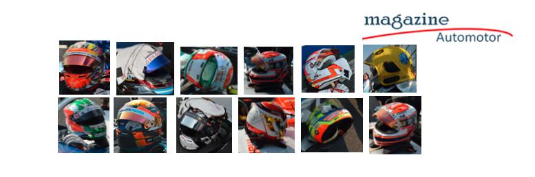 Galería: Los cascos de los pilotos de la Fórmula E