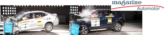 Cinco estrellas de seguridad para VW TCross y  cuatro para Toyota Yaris: Latin NCAP