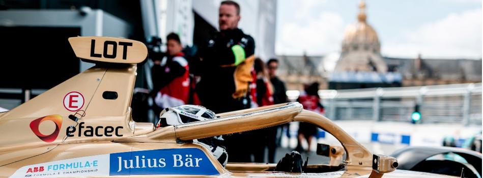 Con el resultado en el París EPrix, DS Techeetah es primero y Lotterer es segundo