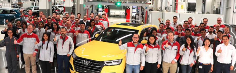 En su 6o Aniversario, Audi México anunció la producción en México del primer auto híbrido premium