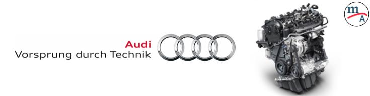 """Motor Audi 2.0 TFSI """"Motor Internacional del Año"""" en la categoría de 150 hp a 250 hp"""