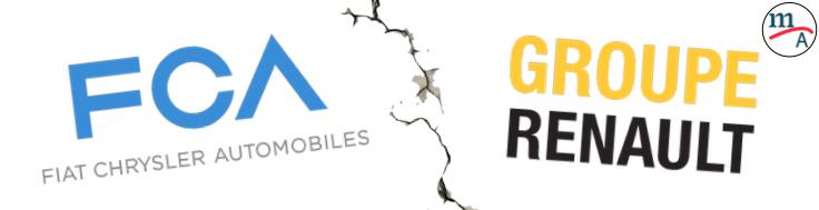 FCA retira la propuesta de fusión al Groupe Renault