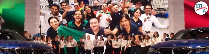 BMW inauguró su planta en San Luis Potosí