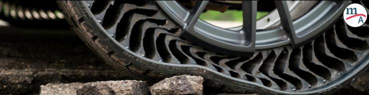 GM y Michelin presentaron las llantas sin aire