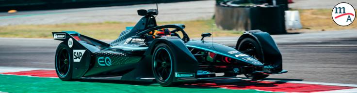 El equipo Mercedes-Benz EQ Fórmula E completa exitosamente las pruebas en Varano