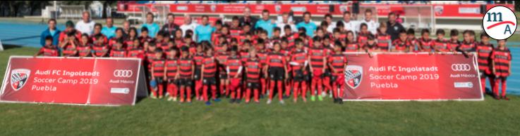 Se realiza el Audi FC Ingolstadt Soccer Camp por segunda ocasión en México