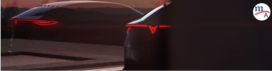 La marca española de autos deportivos, CUPRA, reveló a un auto concepto eléctrico