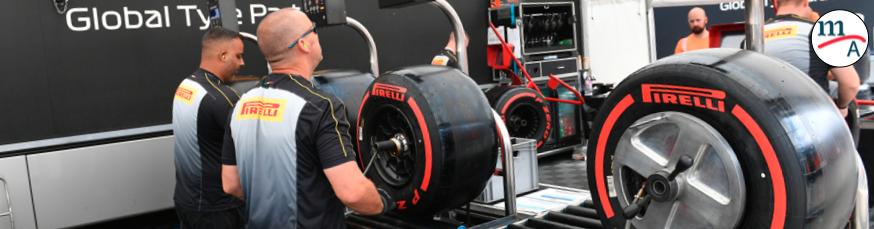Esta es la de selección de neumáticos para el HungríaGP