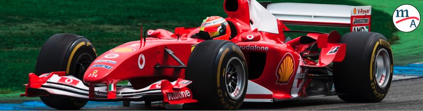 Mick Schumacher hizo un homenaje a su padre conduciendo su F2004 en los eventos del Alemania GP
