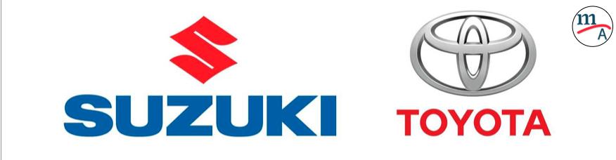 Toyota y Suzuki acaban de firmar una alianza de capital