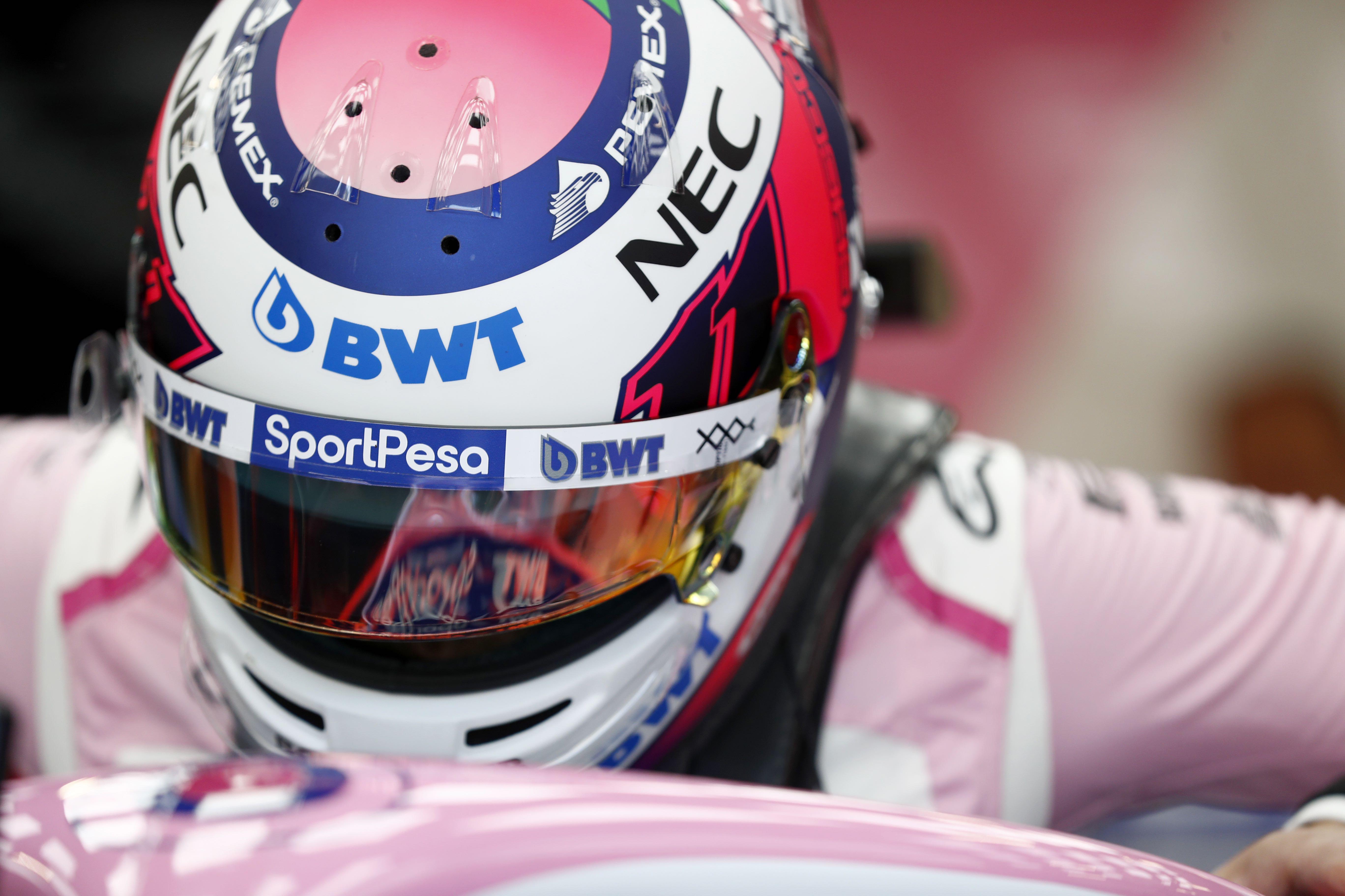 La FIA confirmó que el Checo Pérez dió positivo