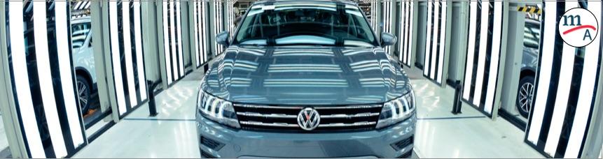 Volkswagen Tiguan lidera la producción de camiones ligeros en México