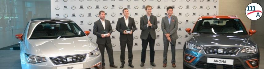 SEAT México recibió reconocimiento de Latin NCAP por la alta seguridad del Ibiza y el Arona