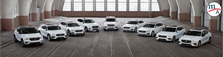 Volvo ha crecido en ventas mundiales 7.4% en lo que va del año