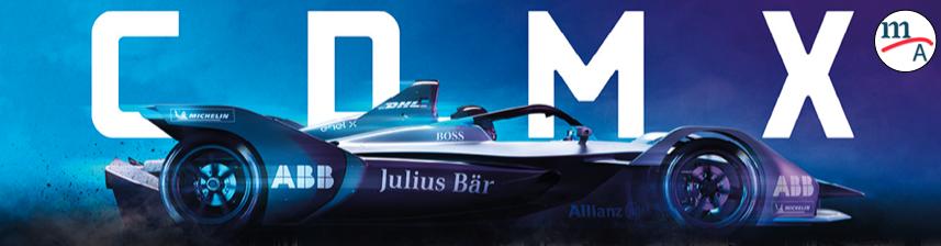 Vuelve la Fórmula E a la CDMX