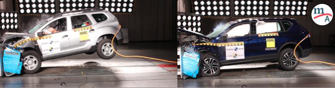 SEAT Tarraco y Renault Duster fueron evaluados por Latin NCAP