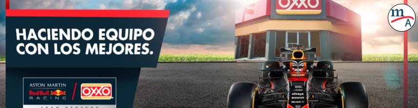 OXXO y Red Bull Racing se unen para el próximo Gran Premio de México