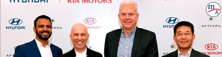 Hyundai y Kia invierten en Arrival para desarrollar vehículos comerciales eléctricos