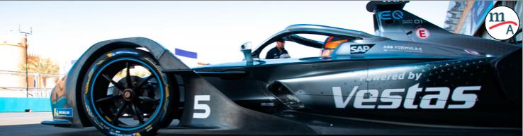 Muy motivado el equipo Mercedes-Benz EQ para la carrera más calurosa de la temporada