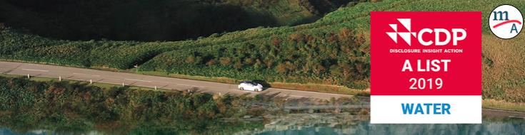 Nissan fue reconocida por por CDP por sus esfuerzos en la gestión del agua