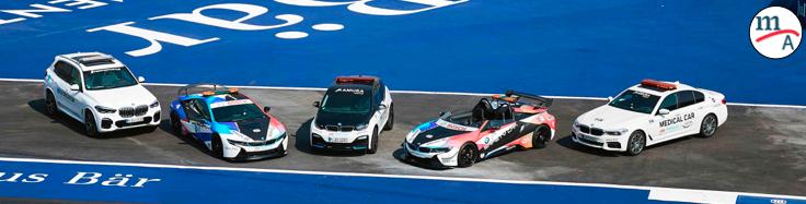 BMW I amplía su asociación con laFórmula E como socio oficial de vehículos