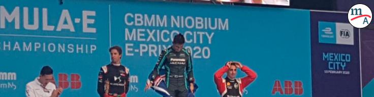 Evans de Jaguar, ganó un alocado Mexico City EPrix