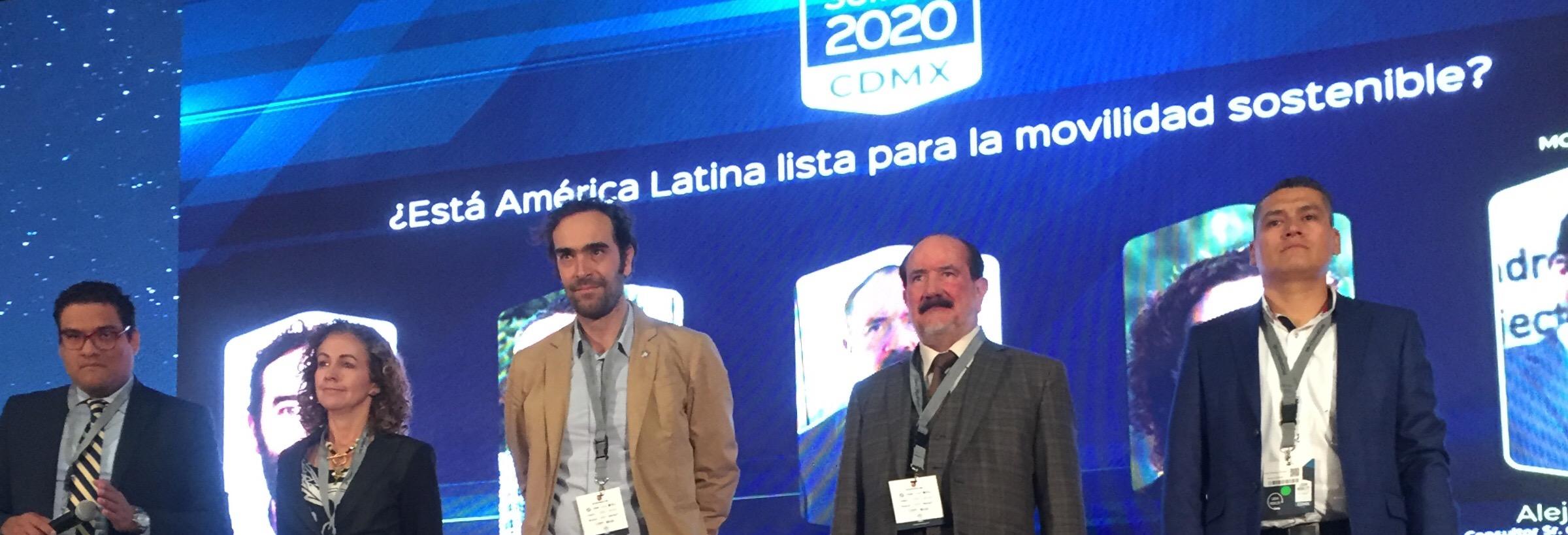 """""""Hacia una movilidad sostenible"""", Latam Mobility Summit 2020"""