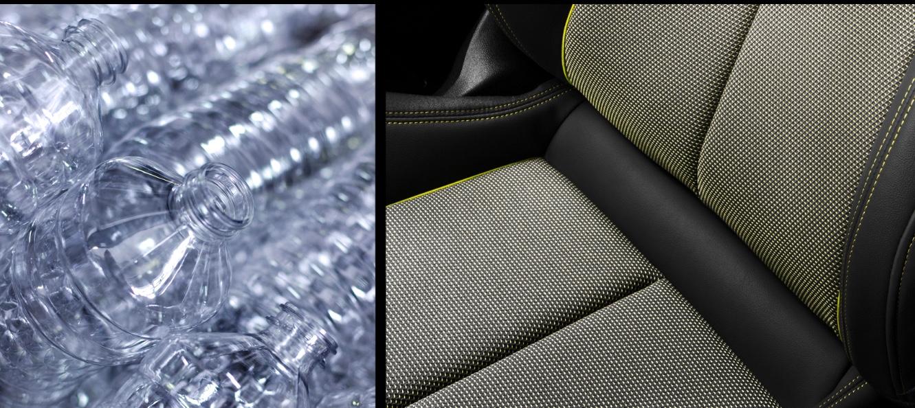 La nueva tapicería del Audi A3 será de PET